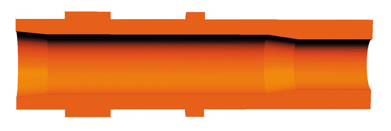 offene pinhuelse orange A